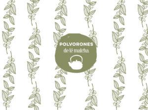 Polvorones originales de té matcha